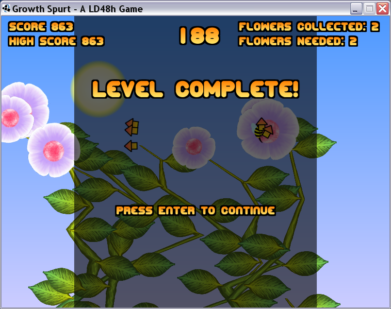 LevelComplete